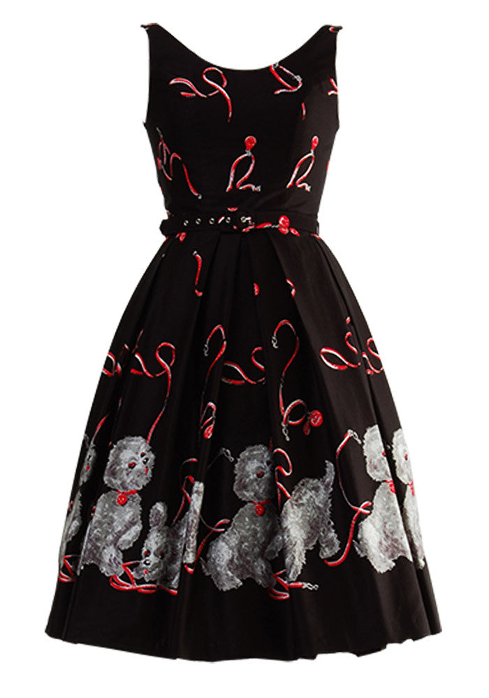 """Final Sale"" Walk in the Park Border Print ""Betty"" Dress"