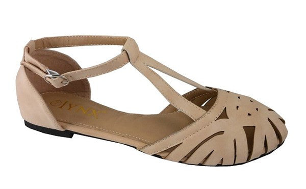 """Final Sale"" Carmen Sandal, Natural (Blemished)"