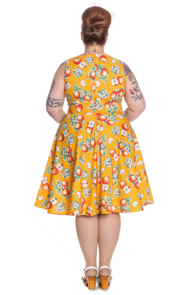 """Final Sale"" Somerset Vintage Apple Dress"