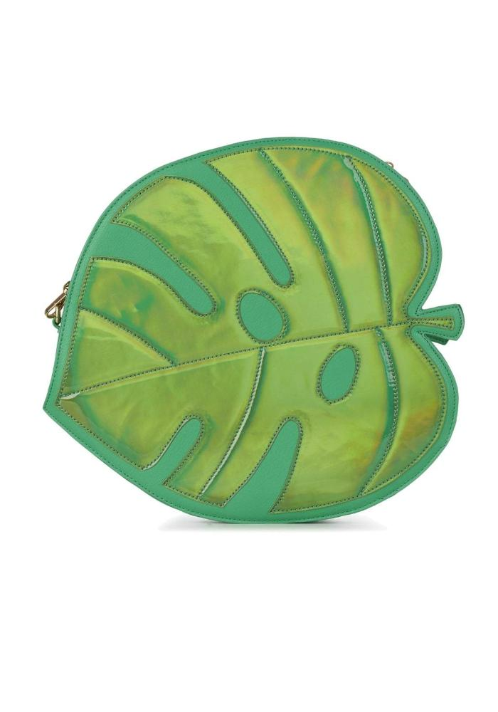Novelty Tropical Leaf Shaped Bag