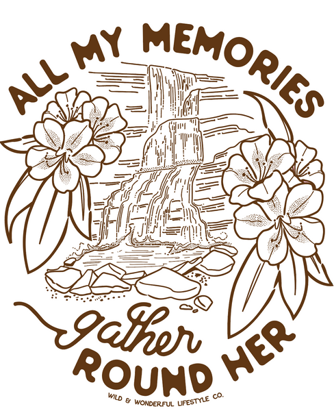 All My Memories coloring Page