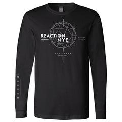 2016 Event Long Sleeve Shirt Black - REACTION NYE