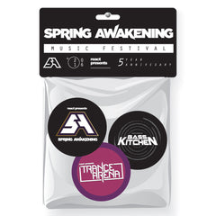 "1"" Round Collector Button 3-Pack - SPRING AWAKENING"