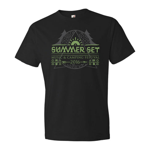 Event Logo Tee Black - SUMMER SET