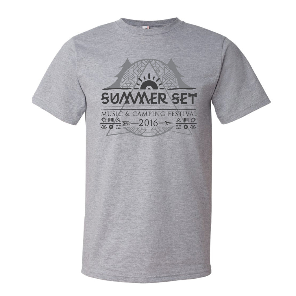 Event Logo Tee Grey - SUMMER SET