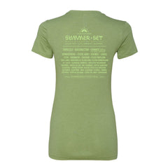 Ladies Green Tee - SUMMER SET