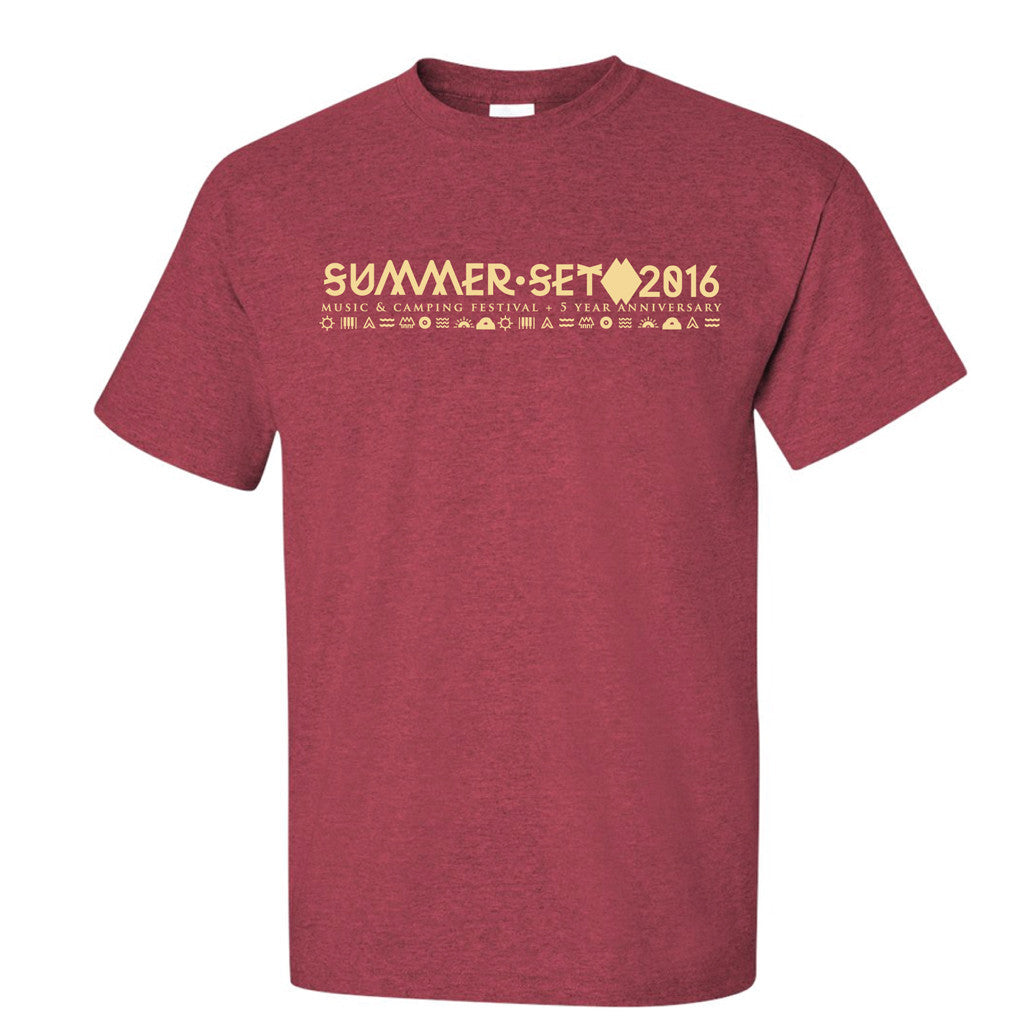 Red Tee Design - SUMMER SET