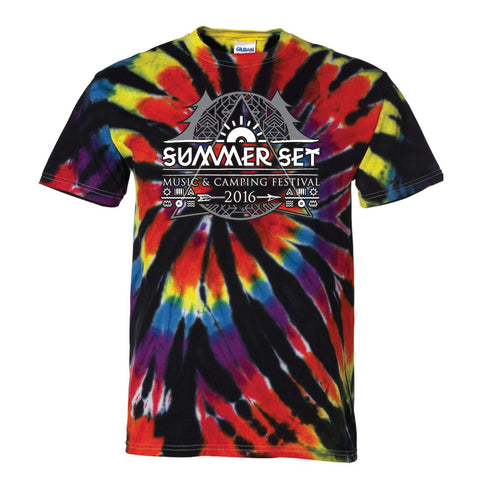 Tye-Dyed Black Rainbow - SUMMER SET