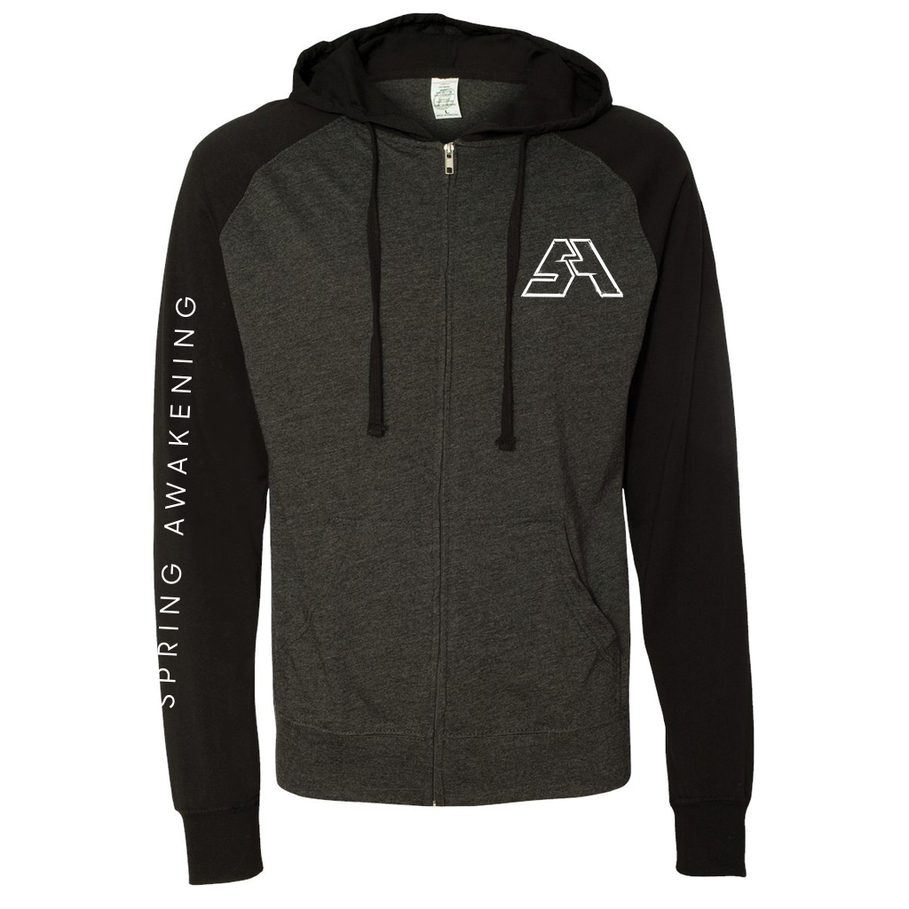 SAMF Raglan Hooded Full-Zip - 2017 Spring Awakening