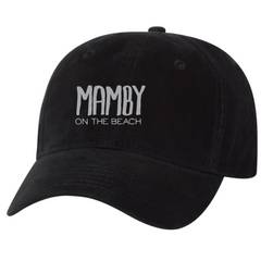 Dad Hat Black Mamby 2017 Official Merch