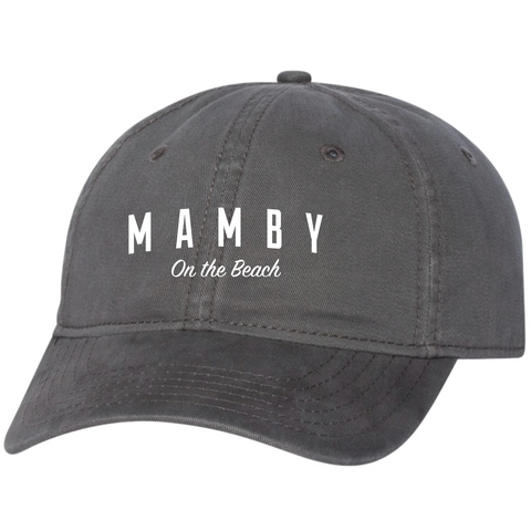 Dad Hat Charcoal Mamby 2017 Official Merch