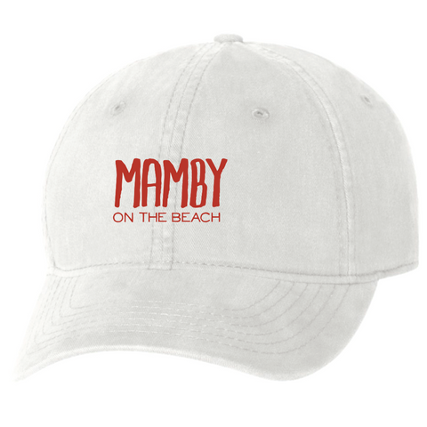 Dad Hat White Mamby 2017 Official Merch