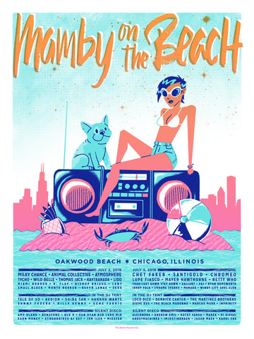 Mamby On The Beach Official Poster