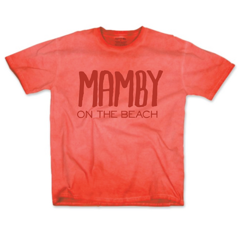 Pigment Dyed Tee Coral Mamby 2017 Official Merch