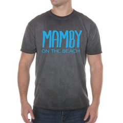 Pigment Dyed Tee Graphite Mamby 2017 Official Merch
