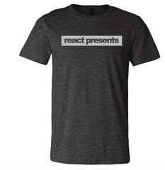 Logo shirt React Presents Heather