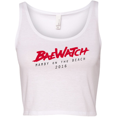 BaeWatch White Crop Top - Mamby 2016