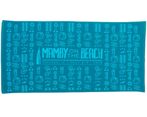 Icon Beach Towel - Mamby 2016