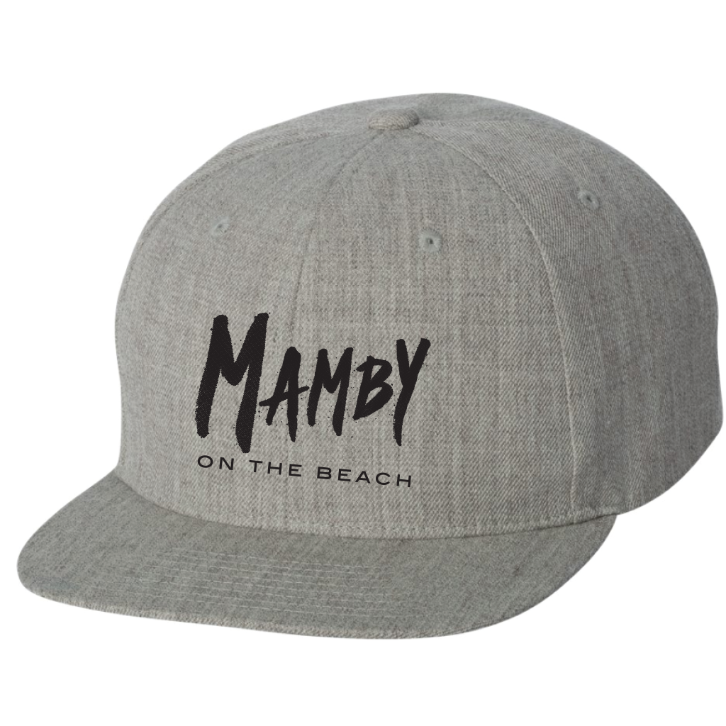Hat Snapback Grey Mamby 2017 Official Merch
