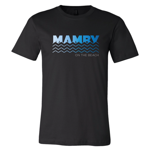 Mamby Waves Logo Tee Mamby 2017 Official Merch