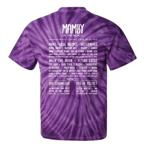 What Dat Mouth Tye Dye Mamby 2017 Official Merch