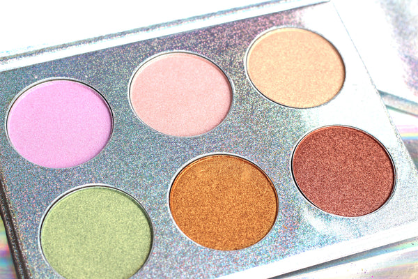 UNIGLOW - Holographic Highlighter Palette - LIMITED EDITION