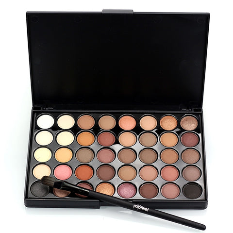 NUDE - 40 Colors Eyeshadow Palette
