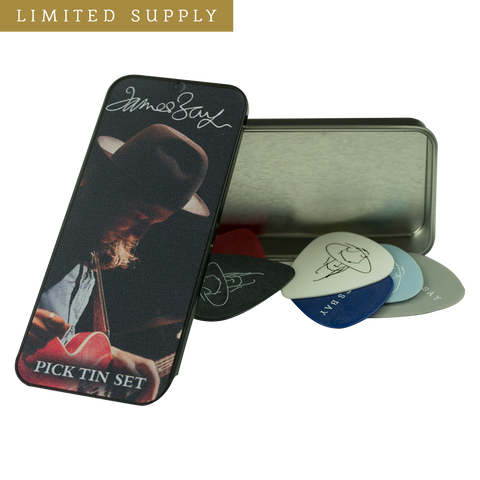 James Bay Pick Tin