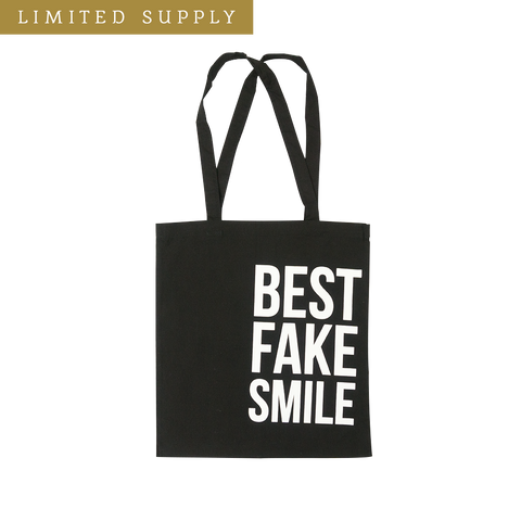 Best Fake Smile Tote Bag