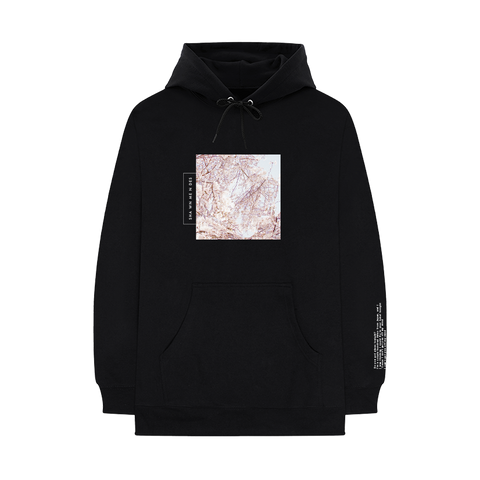 Lost In Japan Floral Hoodie