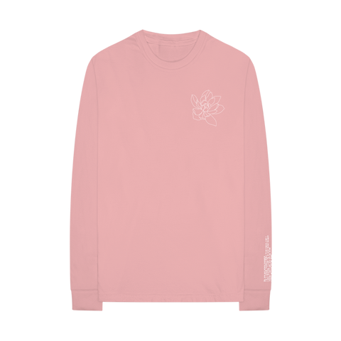 Lost In Japan Floral L/S T-Shirt