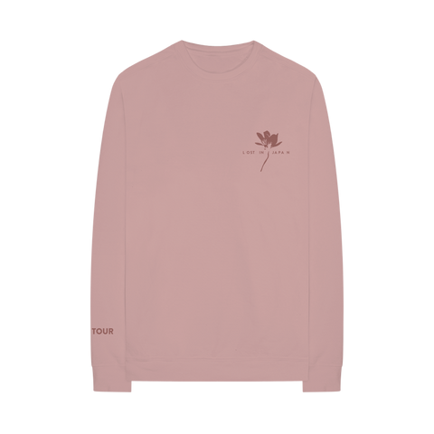 LOST IN JAPAN THE TOUR CREWNECK
