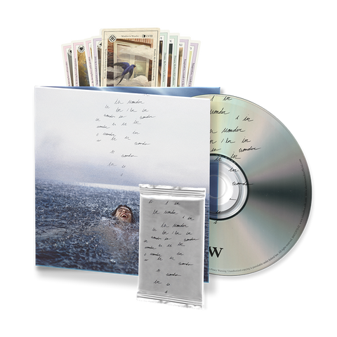 WONDER DELUXE PACKAGE CD w/ LIMITED COLLECTIBLE CARD PACK IV INSIDE