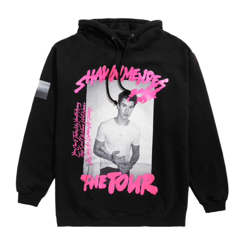 THE TOUR BLACK PHOTO HOODIE