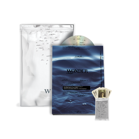 WONDER LIMITED EDITION ZINE W/ CD & LIMITED COLLECTIBLE CARD PACK VI INSIDE