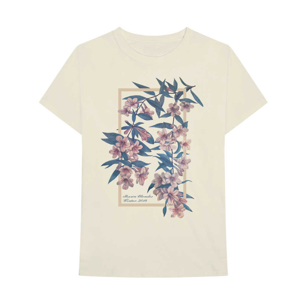 834dd28ad WINTER FLORAL T-SHIRT – Shawn Mendes   Official Store