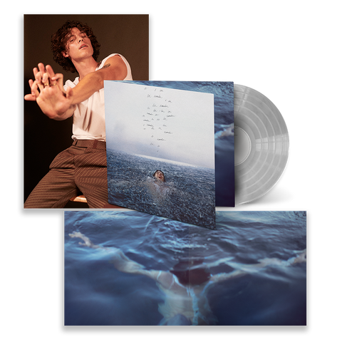 WONDER LIMITED CLEAR VINYL w/ FOLDOUT POSTER