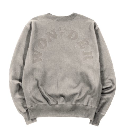 WONDER EMBOSSED CREWNECK