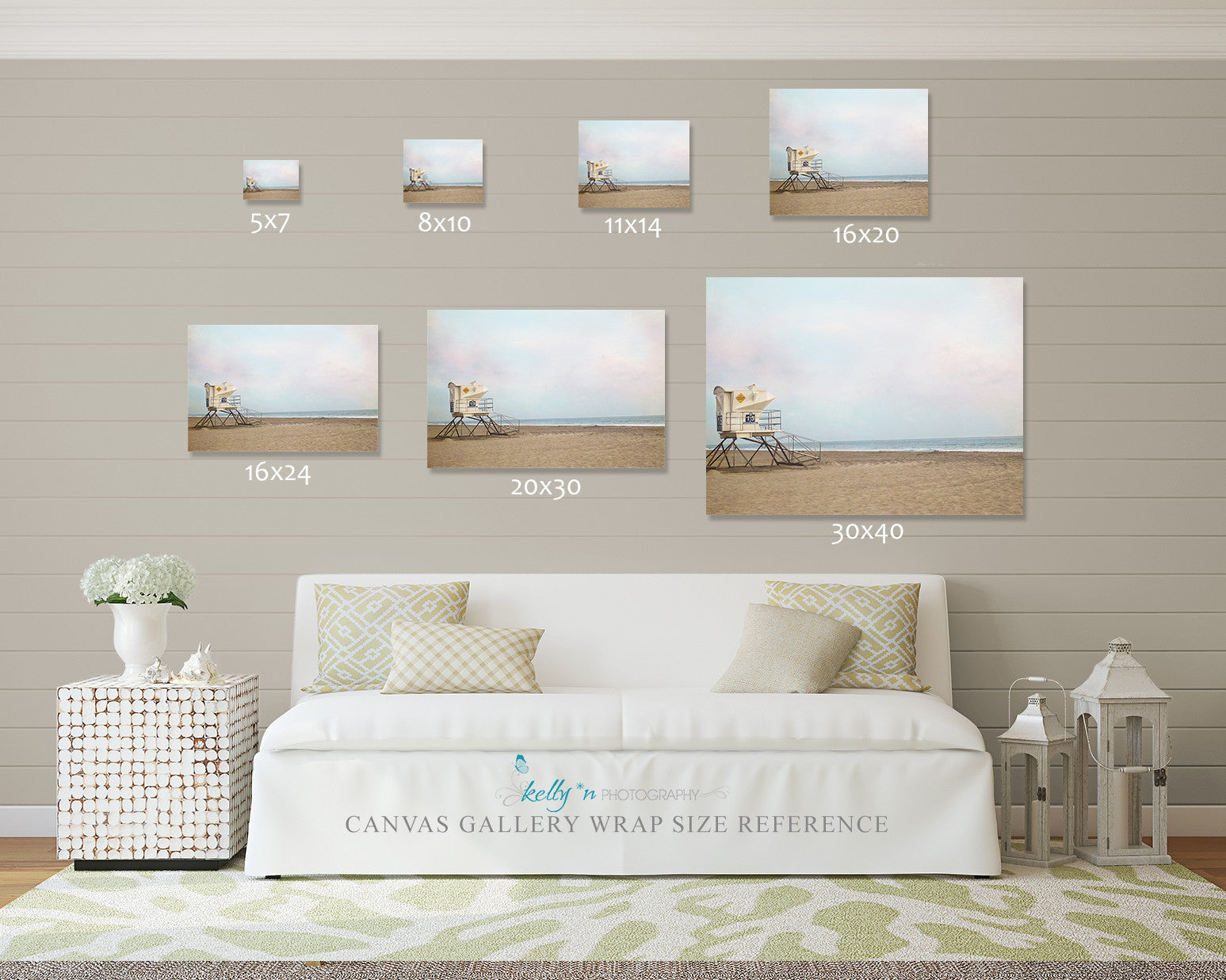 number 15 canvas gallery wrap kelly n photography