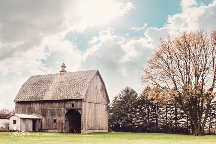 Grey Barn - Barn Photography