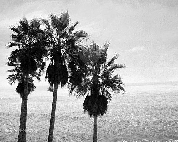 Black and White Beach Print Set of 3 - Kelly*N Photography - 4