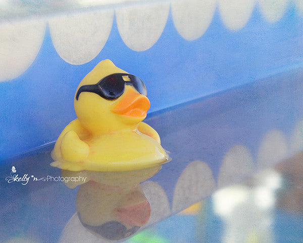 Rebel Duck- Rubber Duck Photograph - Kelly*N Photography - 1
