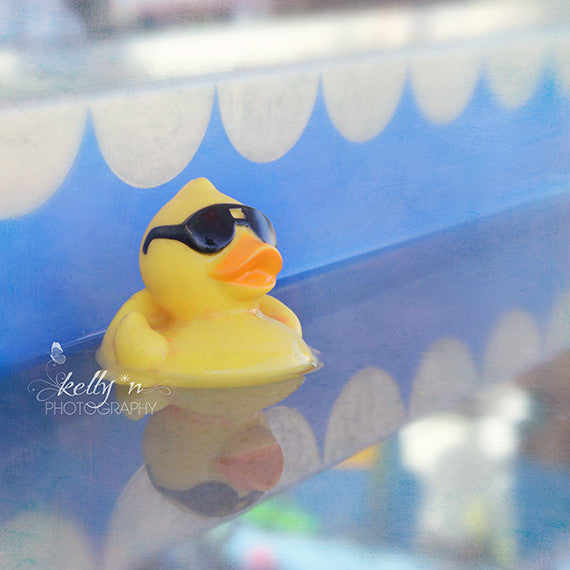 Rebel Duck- Rubber Duck Photograph - Kelly*N Photography - 3
