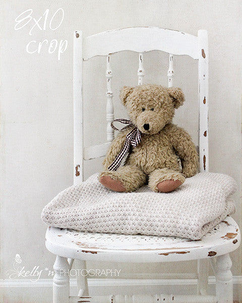 Teddy Chair- Teddy Bear Photograph - Kelly*N Photography - 5