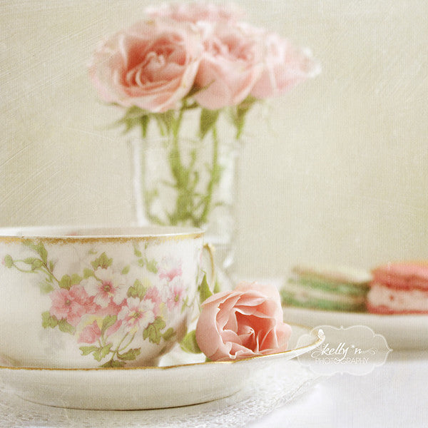 Afternoon Tea Set of 4 Prints - Kelly*N Photography - 3
