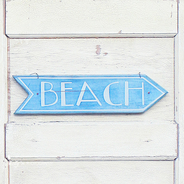 Beach This Way- Beach Sign Print - Kelly*N Photography - 1