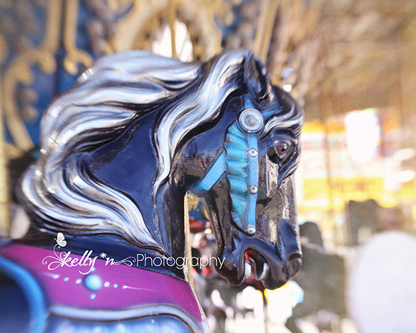 Carousel Horse Photography - Set of 4 Prints