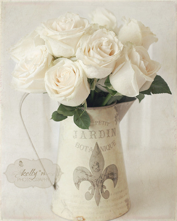 Blanc du Jardin - Floral Still Life - Kelly*N Photography - 1