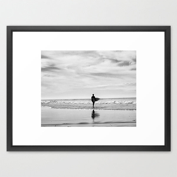 BW Surfer- Beach Photography - Kelly*N Photography - 2