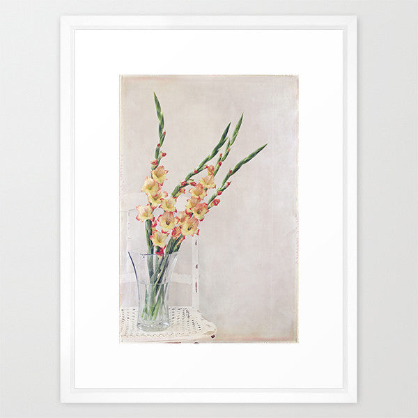 Gladiolus Chair- Floral Still Life Photo - Kelly*N Photography - 2